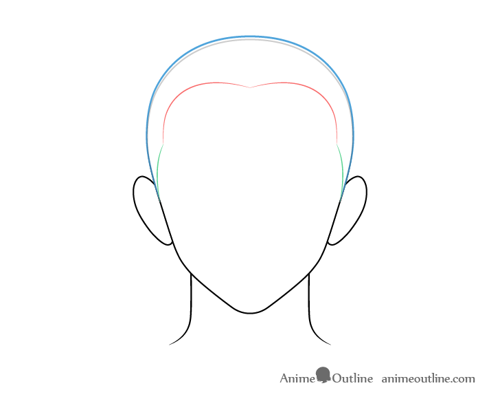 In japan, kabedon mainly appears in plots of girls' manga or anime when a man forces the woman against the wall; How To Draw Anime Male Hair Step By Step Animeoutline