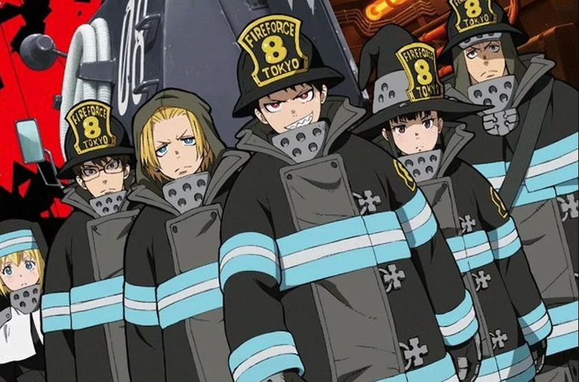 Fire Force anime series