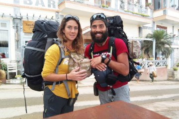Backpacking Annalisa Galloni e Francesco Riccio