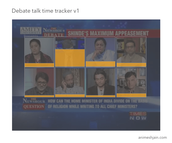 debate time tracker v1