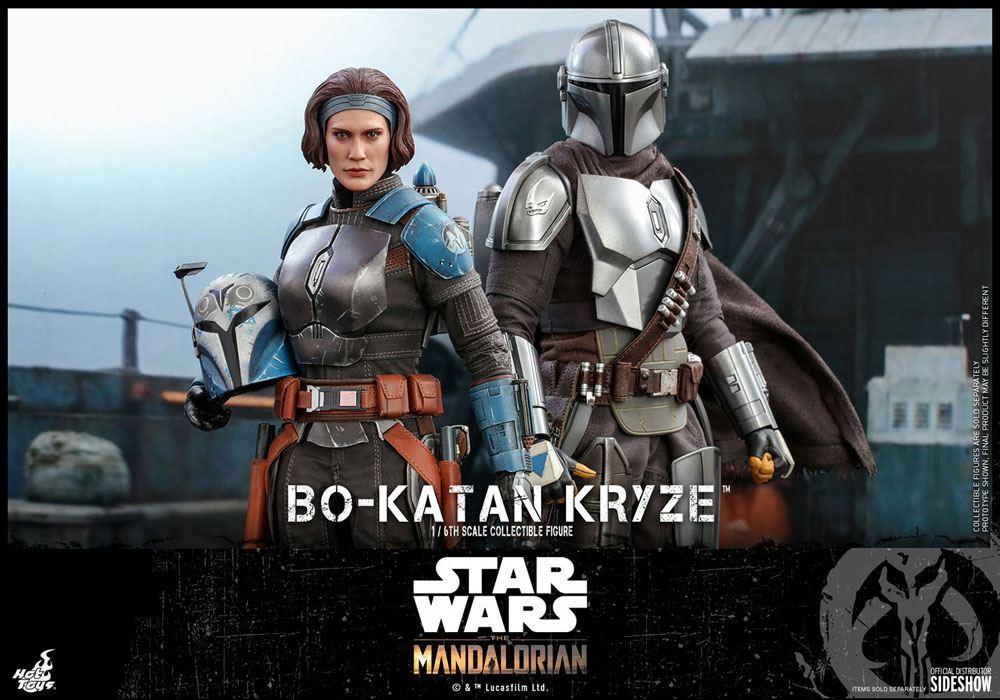 Hot Toys Star Wars The Mandalorian Action Figure 1 6 Bo Katan Kryze Animetoys