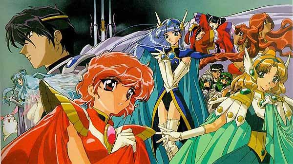 Image result for Magic Knight Rayearth