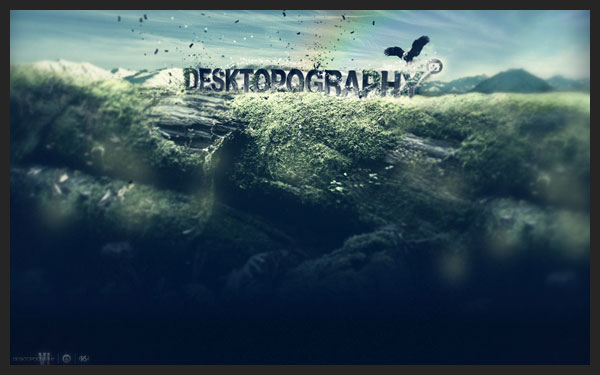 desktopography wallpaper