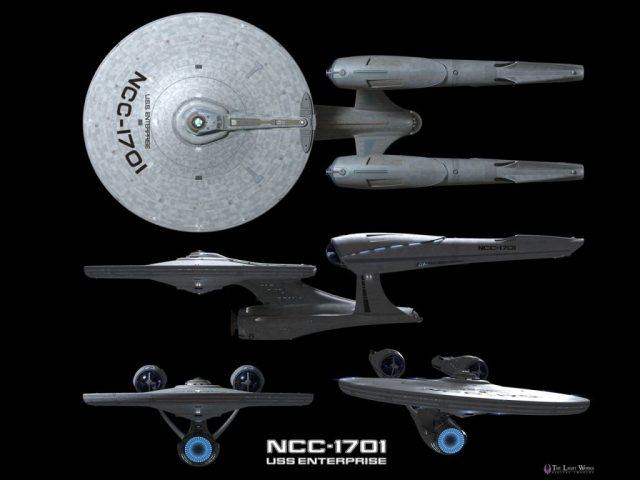 the real USS Enterprise