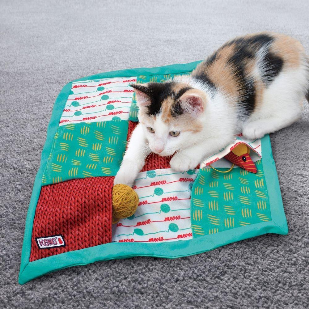 kong tapis de jeux pochette chat