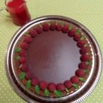 Chocolate Truffle Tart with Chocolate Hazelnut Crust and Raspberry Coulis