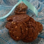 Chocolate Cookies with Andre Mint Chips