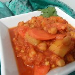 Moroccan Chickpea and Butternut Squash Stew