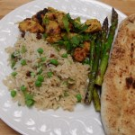 Tandoori Chicken with Indian Rice Pilaf