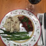 Mexican Chorizo Meatloaf with Tomato-Chipotle Green Chile Glaze