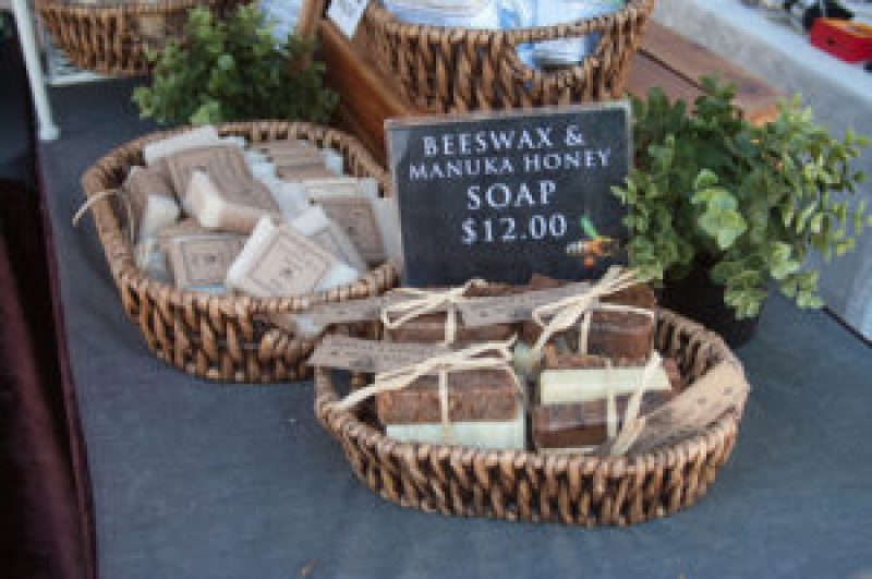 Beeswax & Manuka Honey Soap at the Cleveland Markets, Brisbane QLD Australia 20150802-VPR00306.jpg