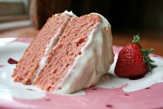 Recipe: Gluten-free Strawberry Cake