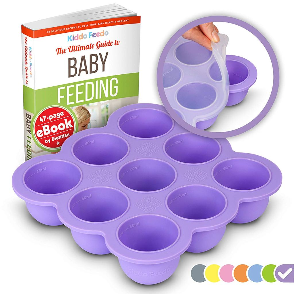 KIDDO FEEDO Baby Food Freezer Tray