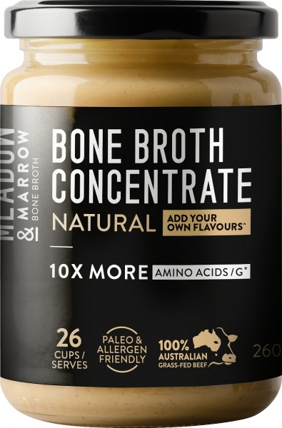 Meadow & Marrow Bone Broth Concentrate Natural