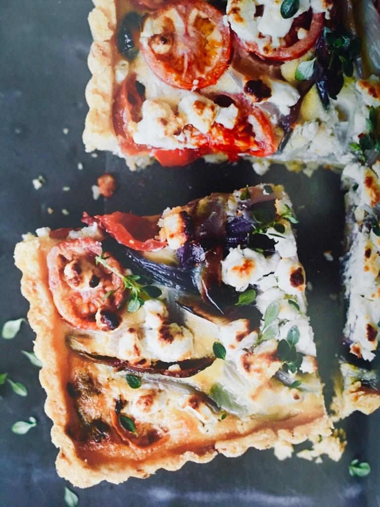 Tomato, Onion and Goat's Cheese Tart Recipe