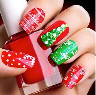 Christmas Nail Stencils