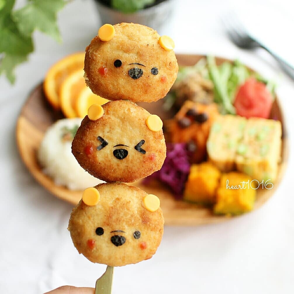 Fish Cakes Kawaii Recipe