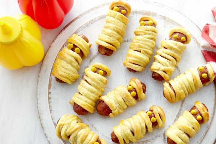 Cocktail Sausage Mummies