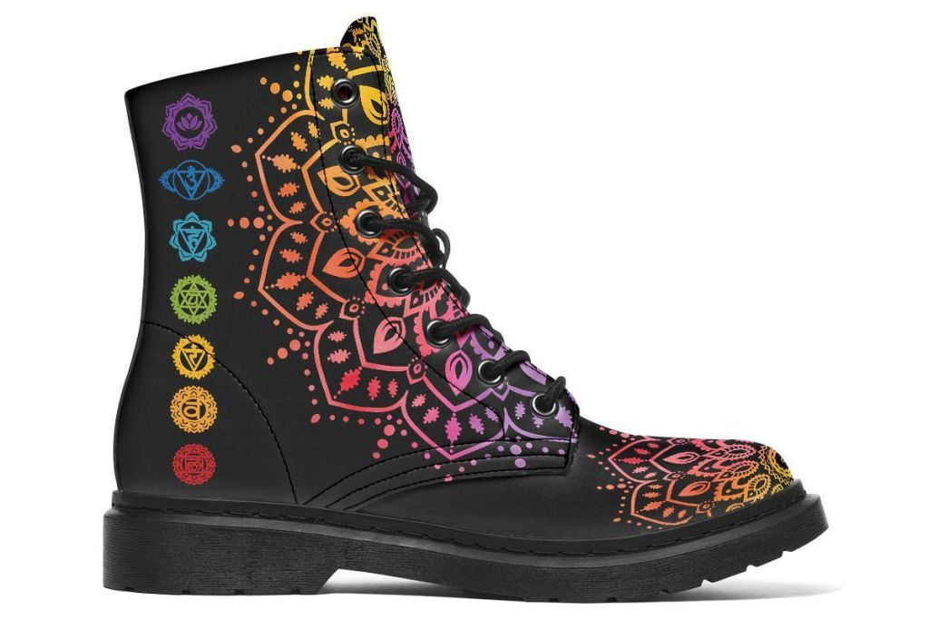 Yes We Vibe Chakra Love Boot