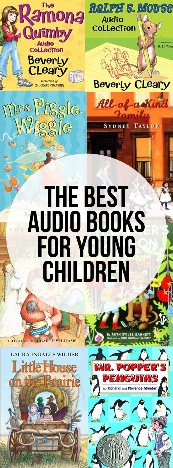 The Best Audiobooks for Young Children