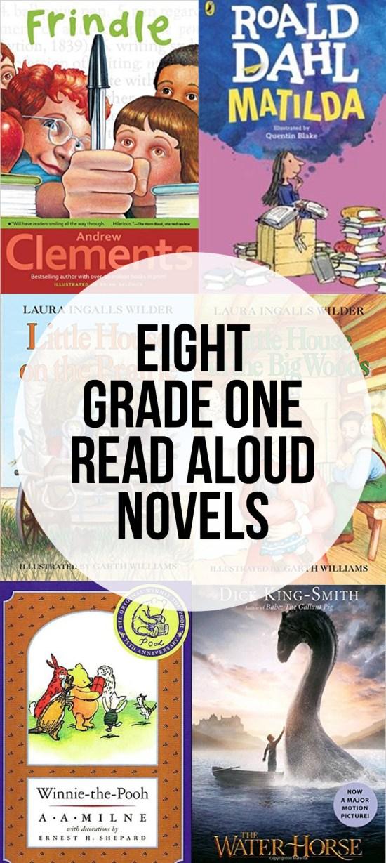 Great Grade One Read Aloud Novels