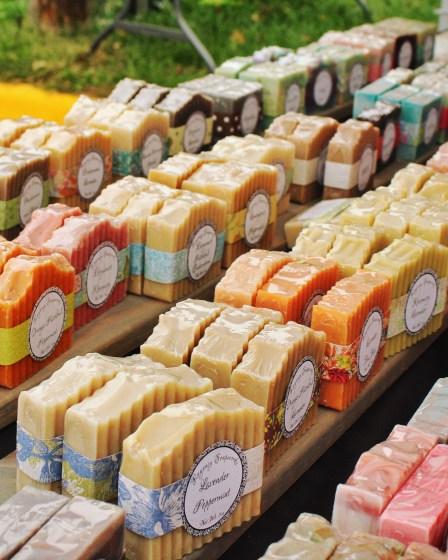 Handmade Soaps at Fall Festival