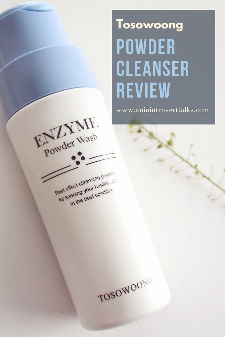 Tosowoong Powder Cleanser Review