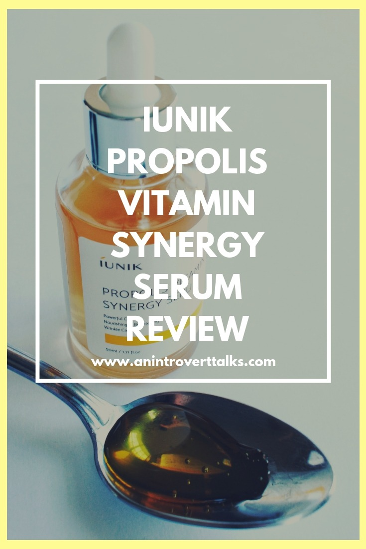 iUNIK Propolis Vitamin Synergy Serum Review
