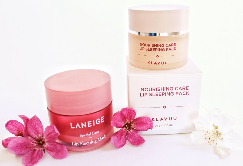Laneige vs. Klavuu Lip Mask Review