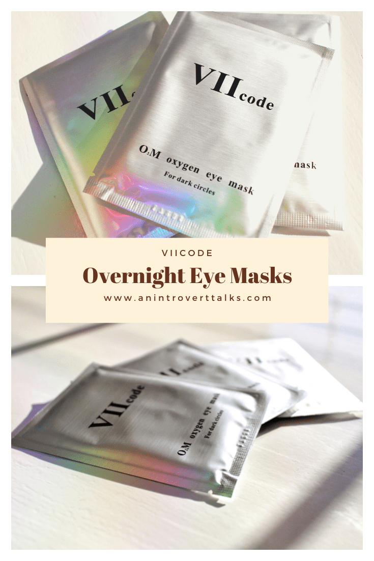 VIIcode Oxygen Eye Mask Review