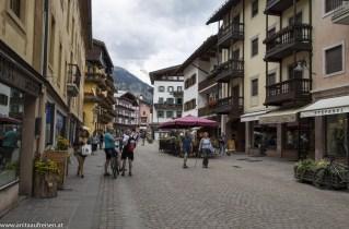 Cortina d'Ampezzo, Lange Weg der Dolomiten, www.anitaaufreisen.at