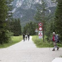 Radweg bei den Drei Zinnen, Dolomiten, Südtirol, www.anitaaufreisen.at