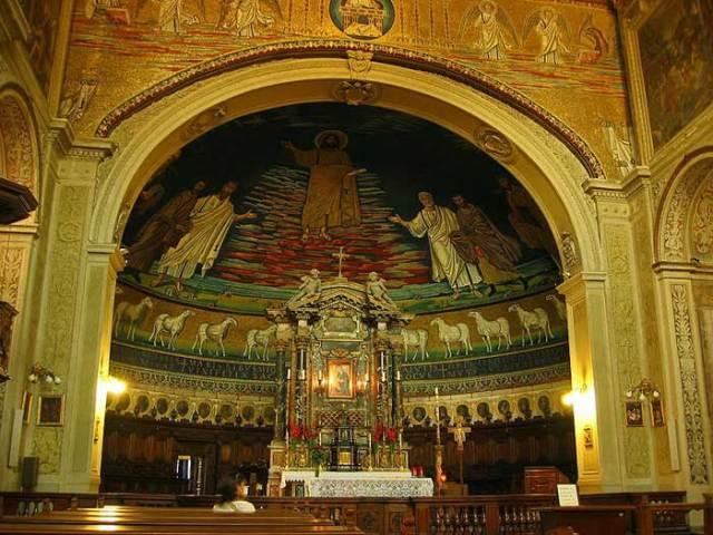 abside-basilica-dei-santi-cosma-e-damiano