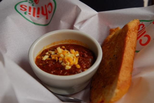 The dish that Chili's is named after - they have both the veg and non-veg versions