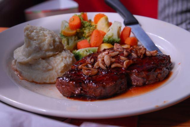 The signature steak