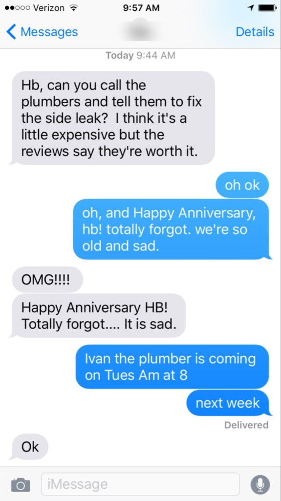 13th anniversary text