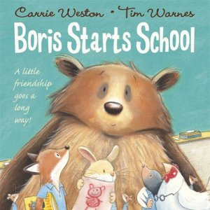 review of best starting school books 'Boris Starts School' front cover