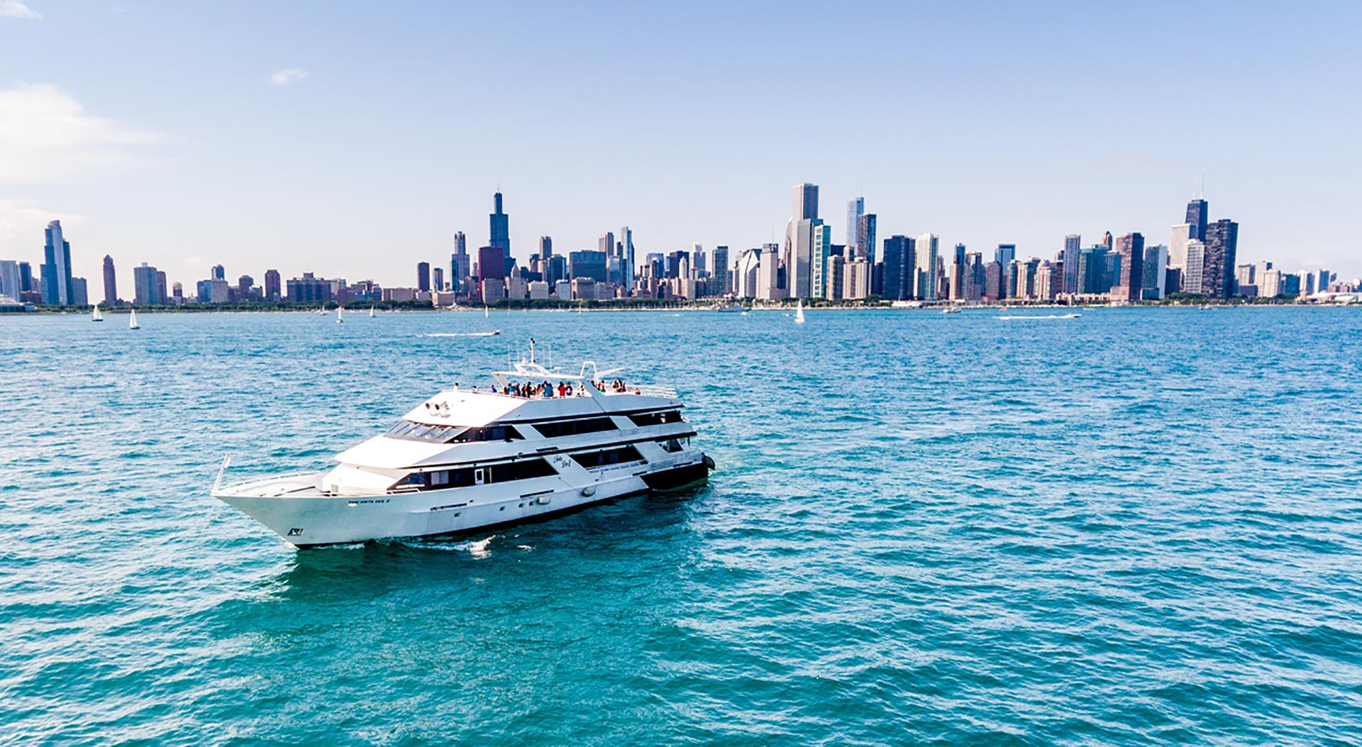 Chicago Yacht Charters Party Boat Rental Anita Dee