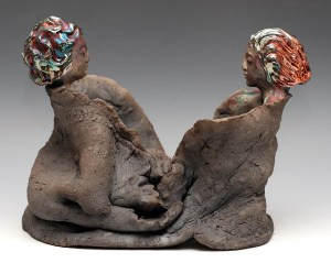 two buddhas facing 4