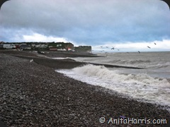 High Tide at St Aubin