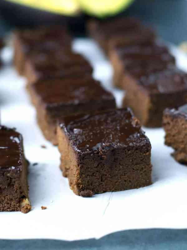 Brownies de Cacau com abacate   Anita Healthy