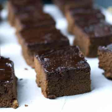 Brownies de Cacau com abacate | Anita Healthy