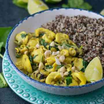 Coconut Curry Squids with Lime | Anita Healthy
