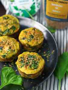 Chicken and Flaxseed Egg Muffins - The Best Healthy Snack
