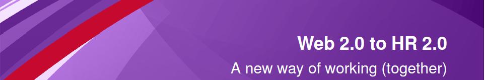 Van web 2.0 naar HR 2.0
