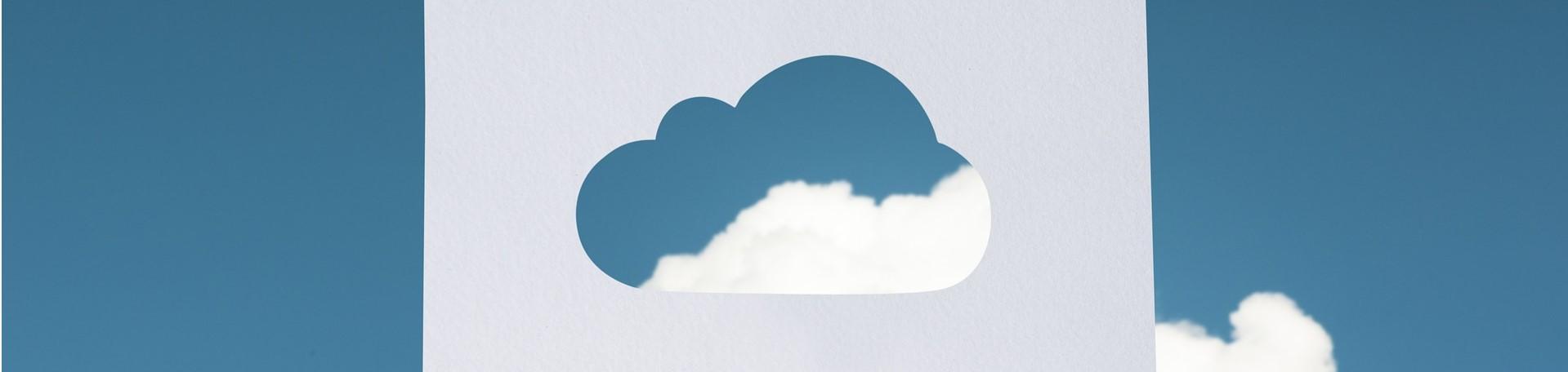 Cloud cut out