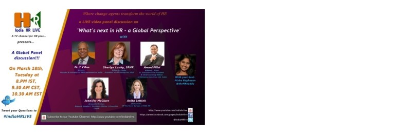 March 18: What's next in HR – a Global Perspective