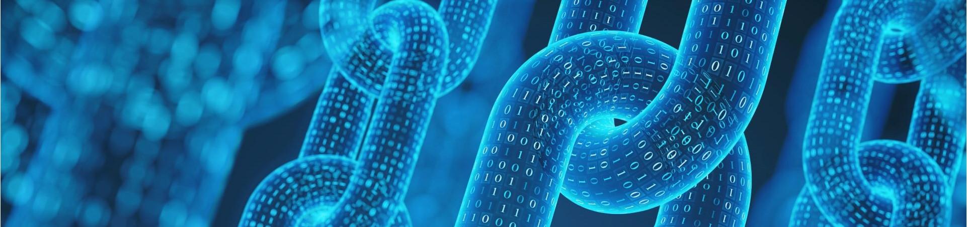 Blockchain chain links