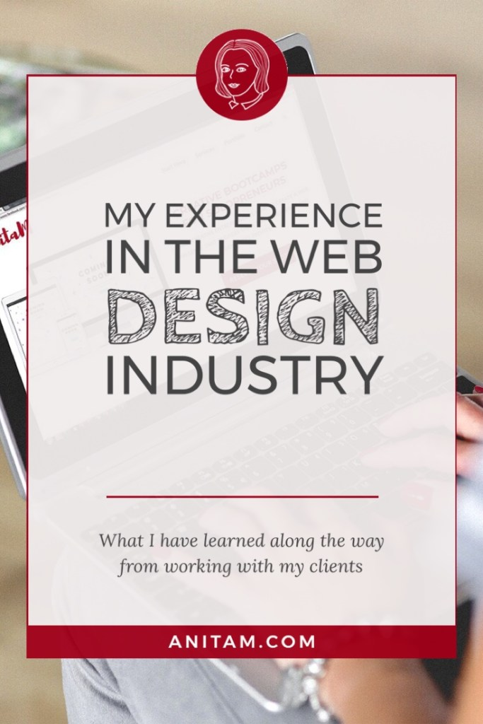 AnitaM   Web Design Experience with Wordpress