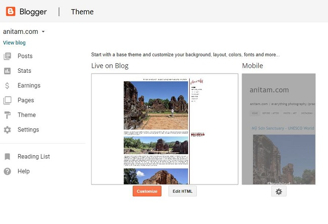 AnitaM | Switch from Blogger to WordPress